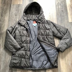Columbia Women's Gray Thermal Coil Puffer Coat🌨💨